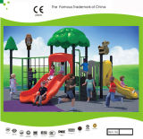 Kaiqi Small Plastic와 Climbing Frame (KQ30035A)를 가진 Metal Forest Themed Children Playground System