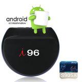 J'ai96 Android 7.1.2 Smart TV Box S905W Quad Core 1 Go de RAM/ROM 8 Go avec 4K HD 1080p, WiFi Media Player
