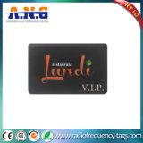 Smart card compatível FM1108/FM1204 1k/4k do plástico RFID para a impressão de Cmyk