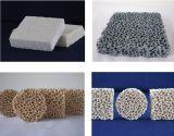 Gomma piuma aperta delle cellule della fonderia dell'allumina che lancia i filtri di ceramica dalla gomma piuma