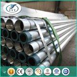 建設プロジェクトの熱いすくいのGalvanziedの鋼管か前にGalvanziedの鋼管