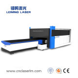 Tagliatrice del laser della fibra del tubo/tubo/piatto del metallo per il acciaio al carbonio Lm3015hm3