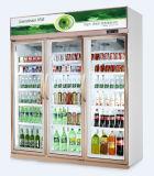 De Koeler van de Drank van drie Deur voor Supermarkt