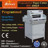 Boway 450mm de Elektrische Digitale Snijder van de Guillotine van de Scherpe Machine van het Document van de Controle van het Programma