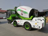 4.0 Building Industryのための立方体Meter Capacity Automatic Concrete Mixer Truck