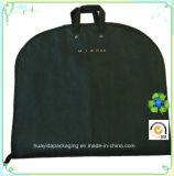 Sacchetto d'abbigliamento non tessuto di abitudine pp con il sacchetto impaccante dell'elemento portante della prova della polvere del vestito della maniglia