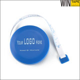Ronda retráctil de PVC Tela de fibra de vidrio medidor Mini cinta métrica (RT-041)