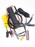 Цифровой Двойной цилиндр надувные цифровой насос чемодан автомобильный воздушный компрессор 12V Toolbox портативный
