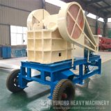 ISO diesel de la trituradora de quijada de la alta calidad de Yuhong mini aprobada