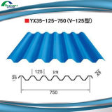 Z80 0.17mm Hot Dipped Galvanized Corrugated Roofing Steel Sheet