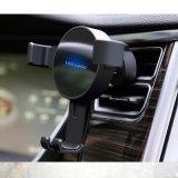 Montaje/sostenedor del coche de la fuerza de gravedad con el cargador rápido sin hilos para los teléfonos móviles