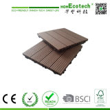 최고 인기 상품! 300X300mm 400X400mm WPC Wood Plastic Composite Decking 또는 Flooring Decking Tiles WPC Tiles