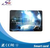 Kundenspezifische transparente 125kHz Tk4100 nächste RFID Plastikkarte der Kompatibilitäts-Em4100