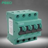 Corta-circuito de los cortacircuítos 65V 10A 2p MCB del carril del estruendo