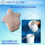 Gomma di silicone del pezzo fuso di vita per la fabbricazione delle bambole del sesso