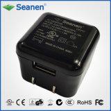 caricatore del cubo del USB 5W (RoHS, Livello VI di risparmio di temi)