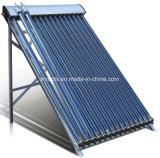Split chauffe-eau Pressuried tube de dépression du système collecteur solaire