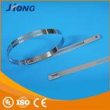 Type van uitstekende kwaliteit van Slot van de Kabel van het Roestvrij staal van het Type van Ladder het band-Multi