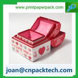 서류상 케이크 음식 의복 상자를 인쇄하는 새로운 형식 색깔