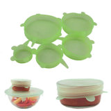 FDA Approved Stretch Kitchen Silicone Lids para Keeping Food Fresh