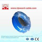 0.5 0.75 1 fil électrique de ménage plat jumeau flexible de Sqmm
