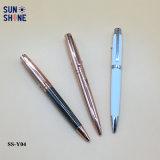 Bolígrafo de lujo del metal de la alta calidad al por mayor de la pluma