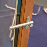 Guichet en aluminium coloré de tissu pour rideaux de profil avec le blocage multi K03038