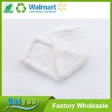Белая крышка ткани плюша, ткань Mop чистки пола хлопчатобумажной пряжи