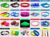 Silikon-Armband Entwerfen Sie Ihre eigene Silikon auf Silikon (TH-band012)