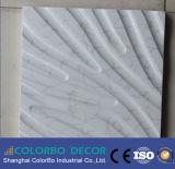 Panneaux décoratifs de mur d'intérieur de la vague 3D