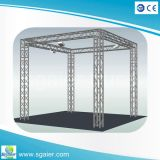 A estrutura de alumínio da manufatura pré-fabrica a cabine de exibição de alumínio do fardo