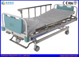 El manual tres de los muebles del hospital sacude la base médica del Cara-Carril de aleación de aluminio