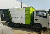 Вакуумный Dongfeng щеточная машина 5Т пыли погрузчик всасывания для продажи