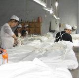 Baumwollgraues Tuch 100% für Kleid