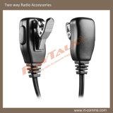Ricevitore telefonico di Earhook del walkie-talkie per Hytera Pd780/Pd785