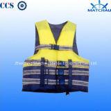 Отражательная морская спасательная одежда безопасности спасательного жилета