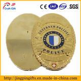 Fördernde Metallpin-Goldpreis-Andenken-Polizei Badge