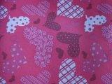 tessuto del poliestere di stampa dei cuori di 600d Oxford con il PVC