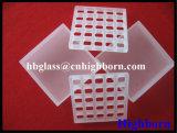 Lastra di vetro materiale del quarzo del silicone fuso di GE