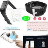 Braccialetto di vigilanza astuto del Wristband impermeabile con il video K18 di frequenza cardiaca