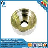 Bouchon de vase d'aluminium OEM d'usinage CNC de précision de rechange de la machine piece accessoire