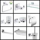 Insieme accessorio della stanza da bagno della stanza da bagno accessoria del bagno dell'acciaio inossidabile di rivestimento del raso