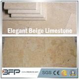 Beige Kalkstein-Bodenbelag-Fliese für Innere und Außenseite