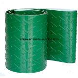 PVC Chevron vert/bande de conveyeur en arête de poisson
