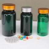 محبوب كبسولة خضراء بلاستيكيّة زجاجة لأنّ الطبّ يعبر