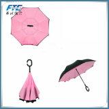 Цветы таможни 13 выбирают зонтик двойного слоя перевернутый