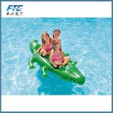 Fila flotante de la piscina inflable gigante para el juguete inflable del agua del cabrito