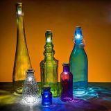 Indicador da iluminação do diodo emissor de luz do vinho, suporte excelente do vinho