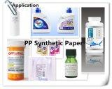 Papel sintetizado de los PP de la capa lateral doble para la impresión en offset
