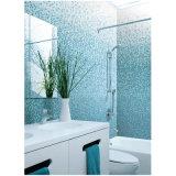Mosaico di vetro di colore blu di disegno dell'Italia per la cucina della stanza da bagno